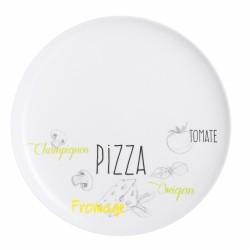 PLATO PIZZA 32CM VIDRIO...